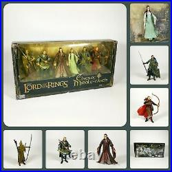 The Lord of the Rings Elves of Middle Earth 7 Figure Deluxe Set ToyBiz 2005