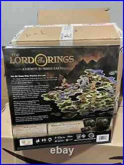 The Lord of the Rings Journeys In Middle Earth Boardgame Brand New And Sealed