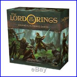 The Lord of the Rings Journeys in Middle Earth Brand New & Sealed