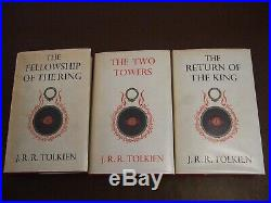 Tolkien The Lord of the Rings 1963 13 10 10 (Hobbit Silmarillion Middle Earth)