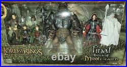 ToyBiz LOTR Lord of the Rings Final Battle of Middle-Earth Box Set Figures
