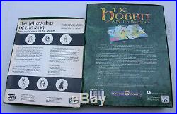 Vintage The Hobbit Adventure Boardgame & Fellowship of the Ring RPG Middle Earth