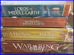 War Of The Ring Middle Earth Ares Lord of the Rings bundle all shrink wrapped