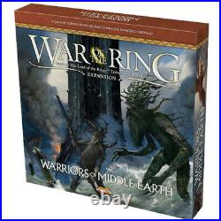 War of The Ring Warriors of Middle Earth Board Game (2nd Ed) BRAND NEW