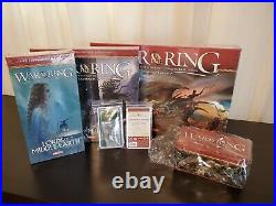 War of the Ring 2nd Edition + All Expansions Lords & Warriors of Middle Earth