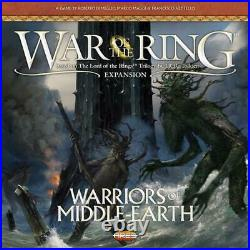 War of the Ring 2nd Edition Warriors of Middle Earth Ares Games Free Shipping