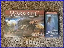 War of the Ring + Lords of Middle Earth Game Expansion Ares Games BRAND NEW