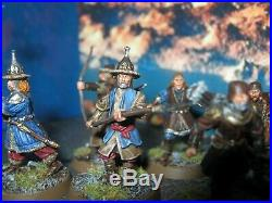 Warhammer LOTR The Hobbit Middle Earth SBG 12 x Lake town Militia Painted
