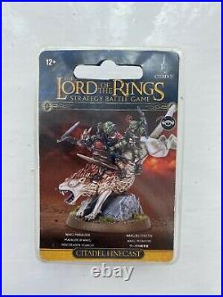 Warhammer Lord Of The Rings Warg Marauder Middle Earth Citadel Finecast Model