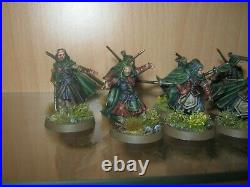 Warhammer Lotr Middle Earth 12 x Rangers of Gondor with Faramir and Madril