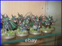 Warhammer Lotr Middle Earth Rangers of Gondor Faramir, Anborn, Mablung, Madril
