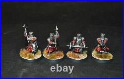 Warhammer lotr Middle Earth 12 Dwarf Grim Hammers painted Army of Thror Erebor