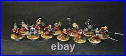 Warhammer lotr Middle Earth 12 Dwarf Warriors of Erebor painted