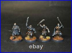 Warhammer lotr Middle Earth 12 Mordor Uruk Hai painted metal orcs Cirith Ungol