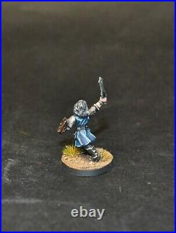 Warhammer lotr Middle Earth 12 Warriors of Erebor led by young Thorin painted