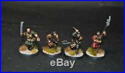Warhammer lotr Middle Earth 12 Wildmen of Dunland painted Isengard