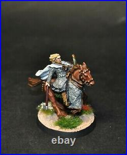 Warhammer lotr Middle Earth 2 Mounted Sons of Eorl painted Riders of Rohan