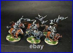 Warhammer lotr Middle Earth 6 Knights of Minas Tirith painted Gondor