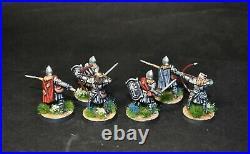 Warhammer lotr Middle Earth 6 Osgiliath Veterans painted Gondor Minas Tirith