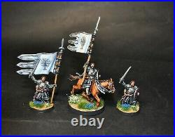 Warhammer lotr Middle Earth Boromir With Banner of Minas Tirith painted