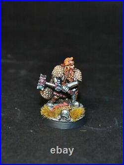 Warhammer lotr Middle Earth Dain Ironfoot Lord of the Iron Hills painted