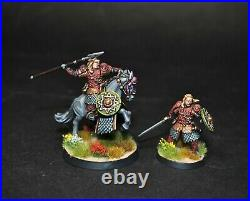 Warhammer lotr Middle Earth Eomer Marshal of the Riddermark painted No Helmet
