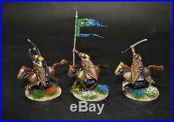 Warhammer lotr Middle Earth Galadhrim Knights painted Lorien Elves