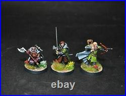 Warhammer lotr Middle Earth The Three Hunters painted Aragorn Legolas Gimli