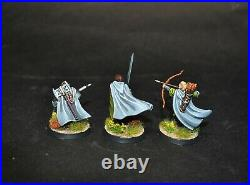 Warhammer lotr Middle Earth The Three Hunters painted Aragorn Legolas Gimli