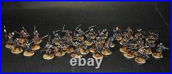 Warhammer lotr Middle Earth Uruk Hai Scouts Isengard army painted 42 figures