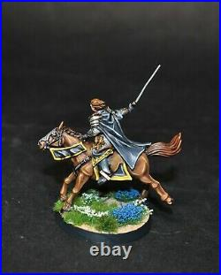 Warhammer lotr Middle Earth Wardens of Gondor painted Hurin the Tall Ingold